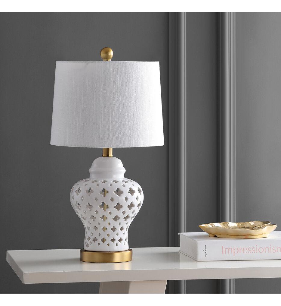 "Quatrefoil 20.5"" Table Lamp"