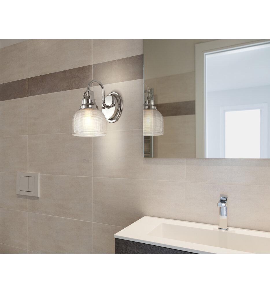 "Virginia 9"" Bath Vanity Light"