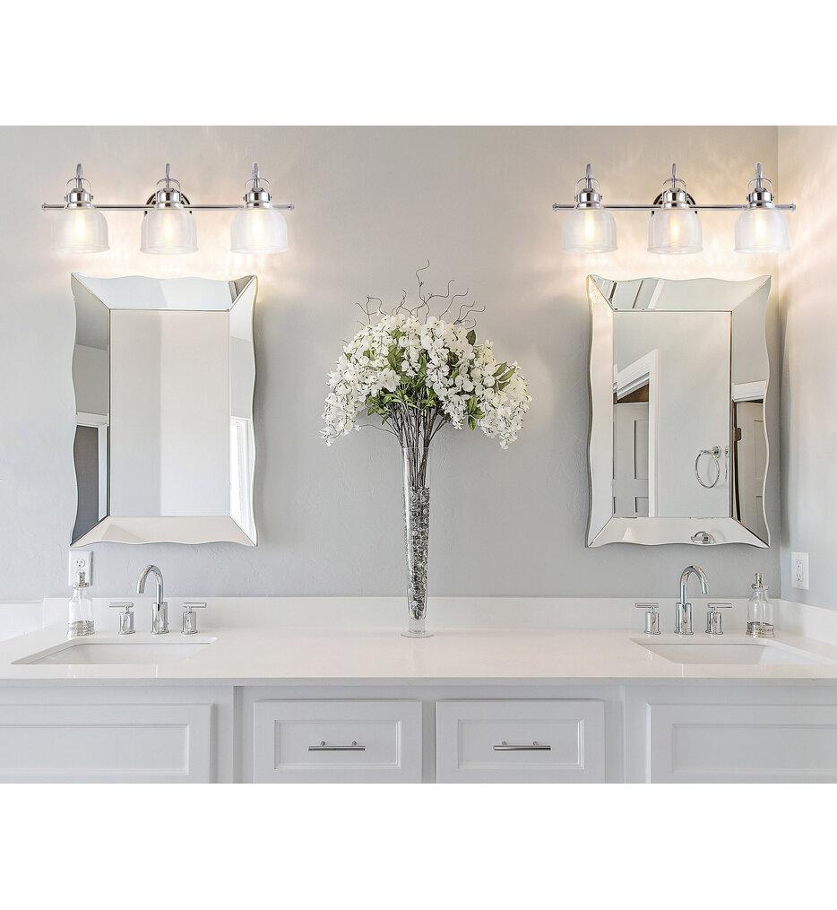 "Virginia 25.25"" Bath Vanity Light"