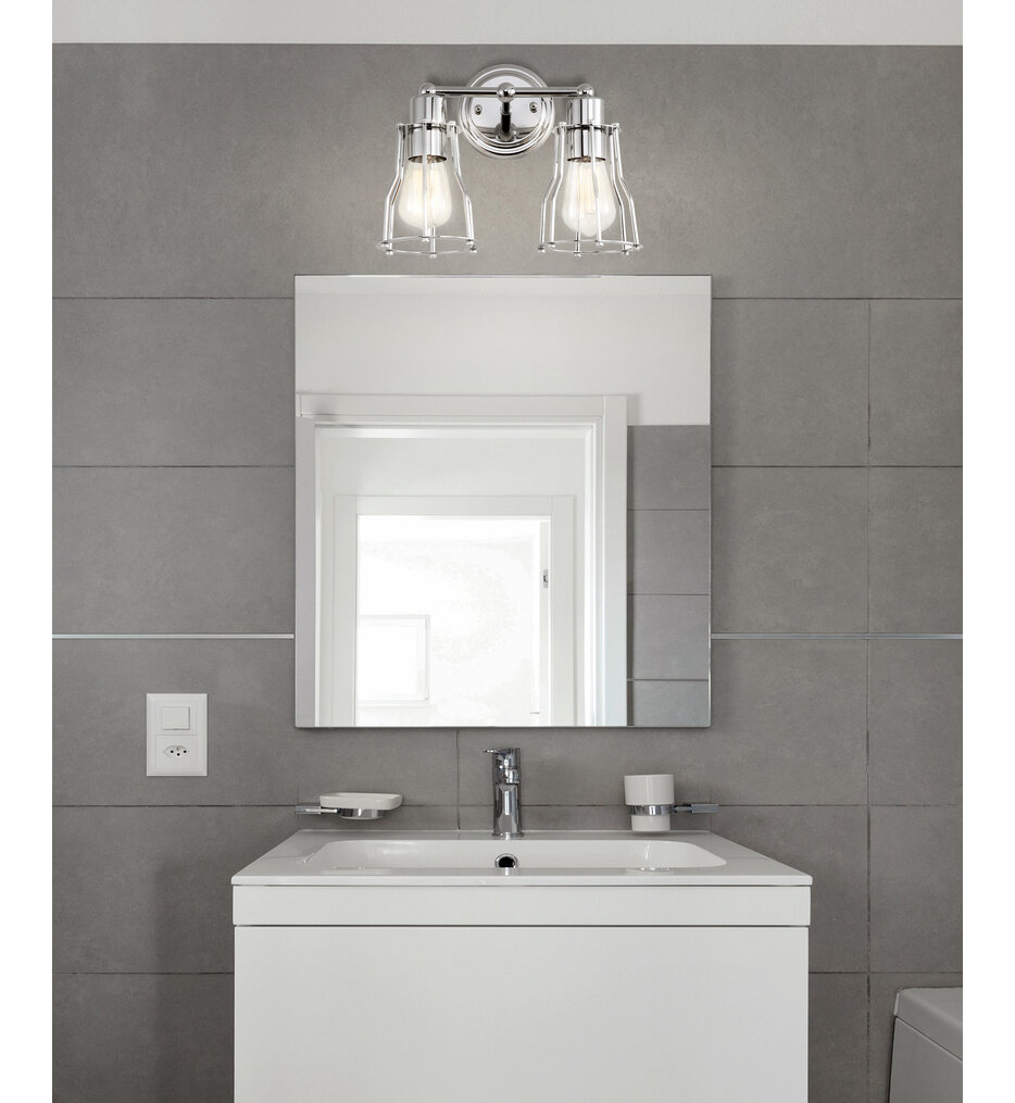 "Evelyn 12.5"" Bath Vanity Light"