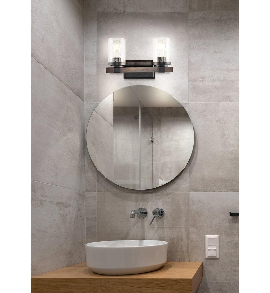 """Bungalow 15"""" Bath Vanity Light"""