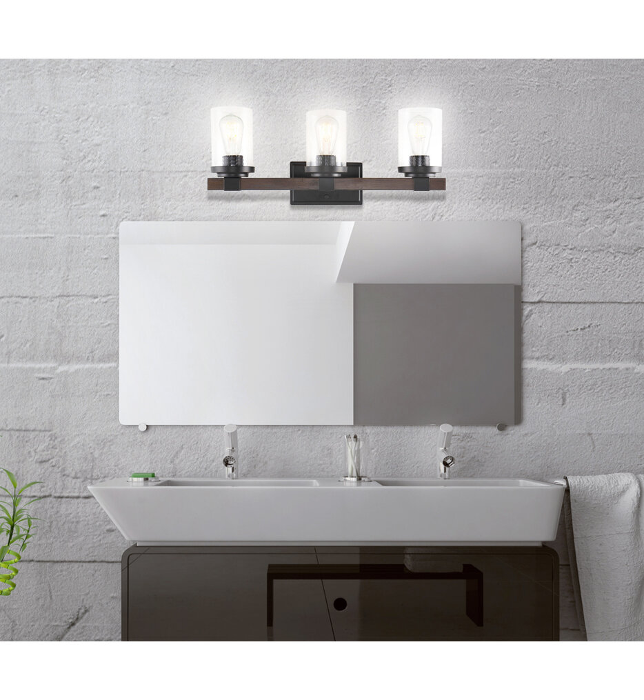 """Bungalow 22.75"""" Bath Vanity Light"""