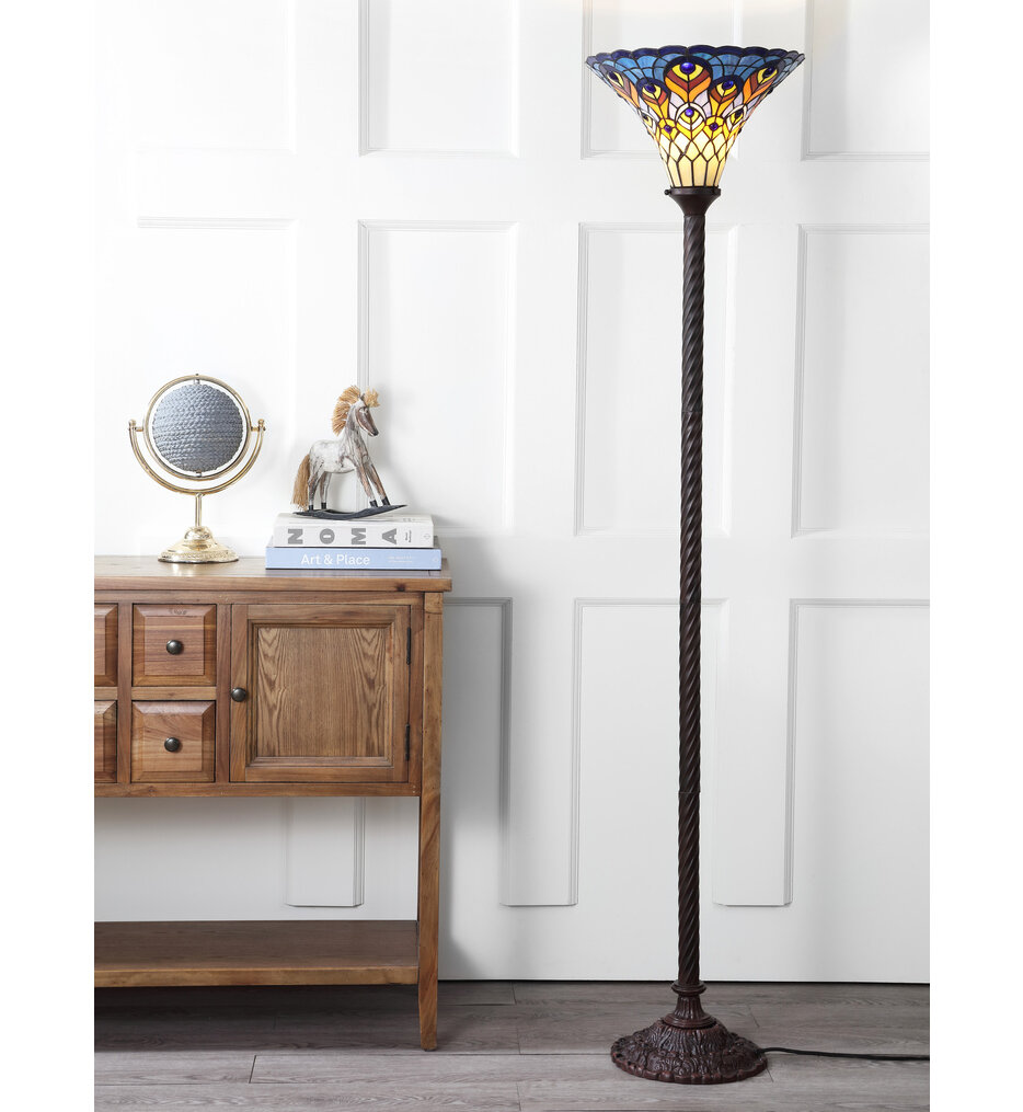 "Peacock 70.00"" Floor Lamp"