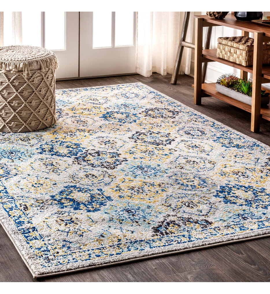 Modern Persian 4' by 6' Rug