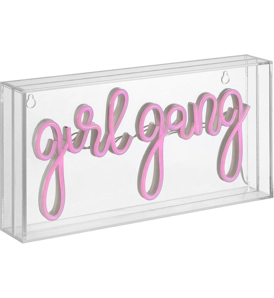 Girl Gang Neon Sign