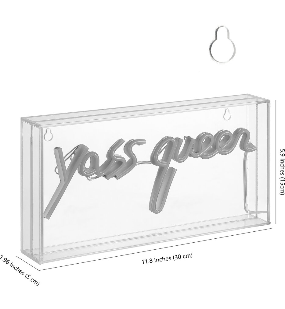 Yass Queen Neon Sign