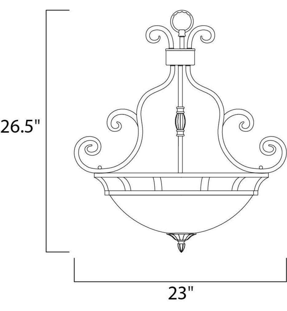 "Manor 23"" Pendant"