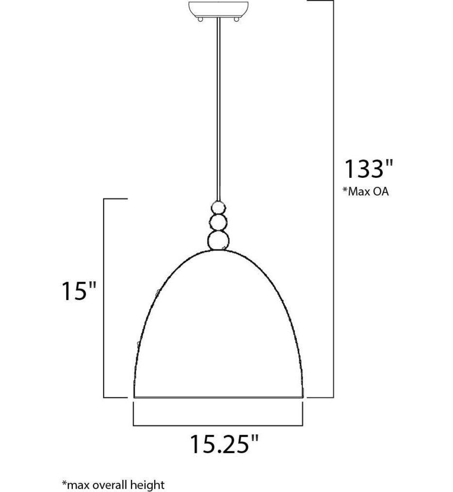 "Crete 15.25"" Pendant"
