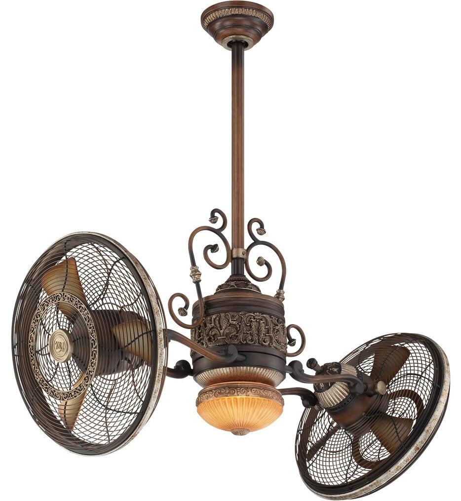 "Traditional Gryo 42"" Ceiling Fan"