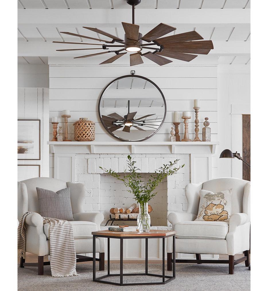 "Prairie 62"" Ceiling Fan"