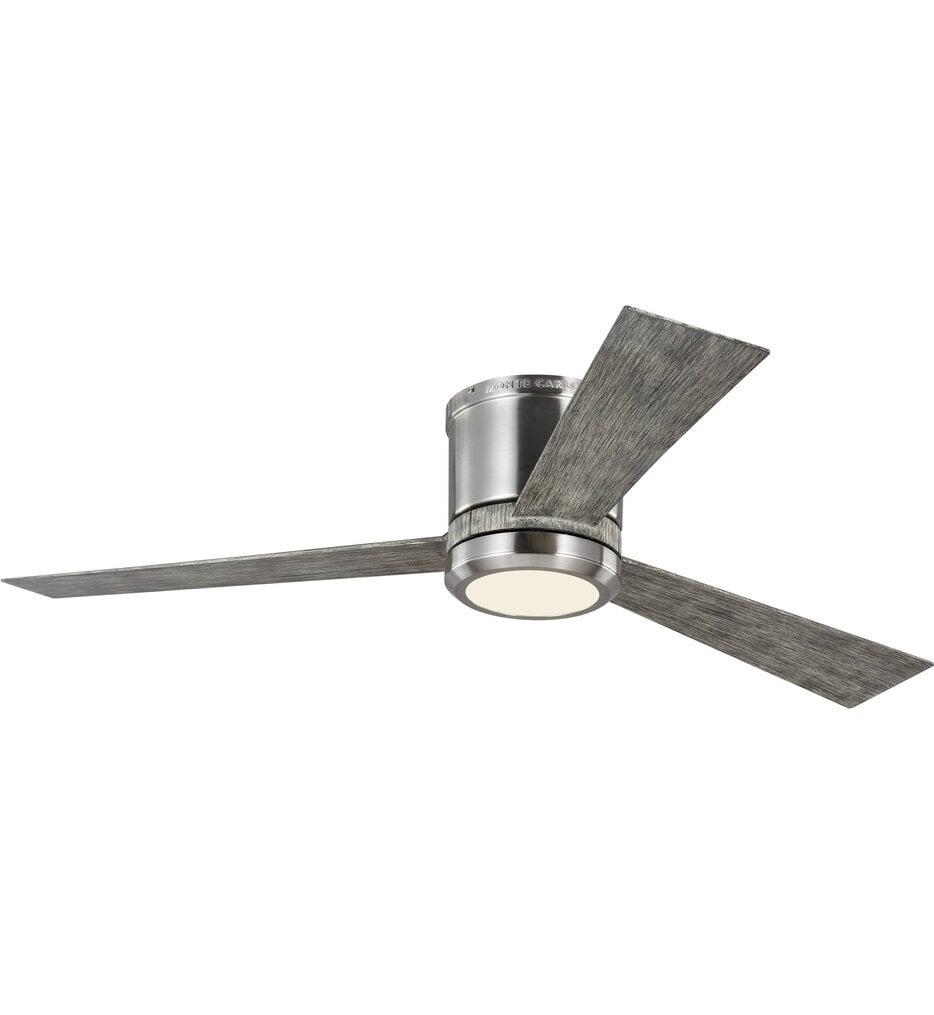 """Clarity 52"""" Flush Mount Fan"""