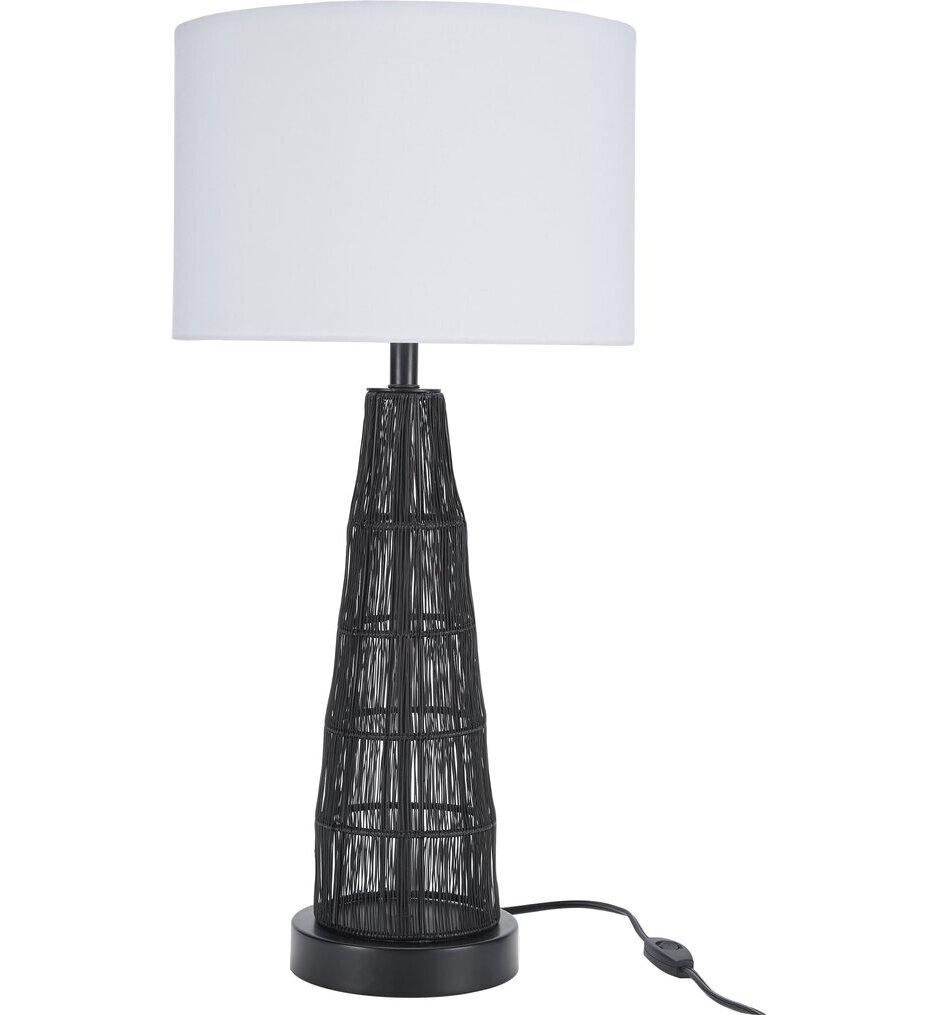 """Mesh Wired 25"""" Table Lamp"""