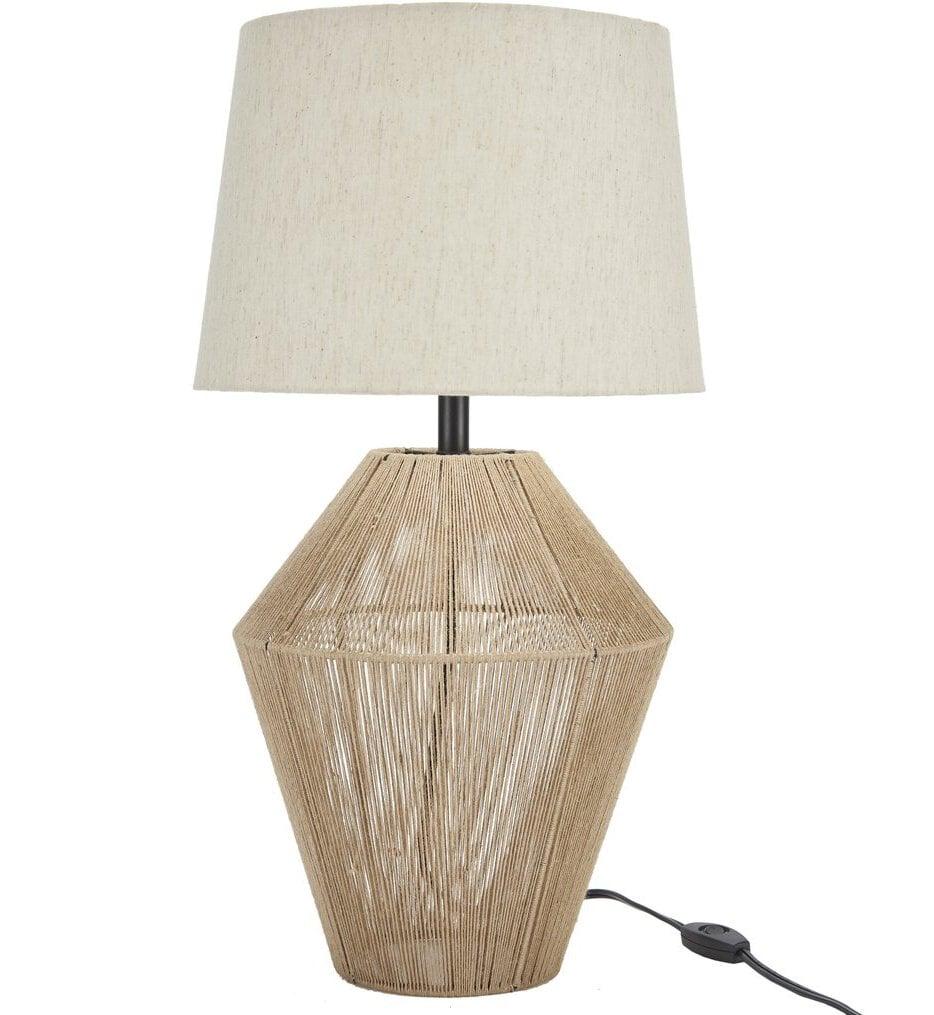 "Natural Woven Jute 23"" Table Lamp"