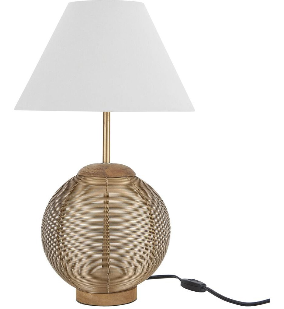 """Wired Globe 21"""" Table Lamp"""