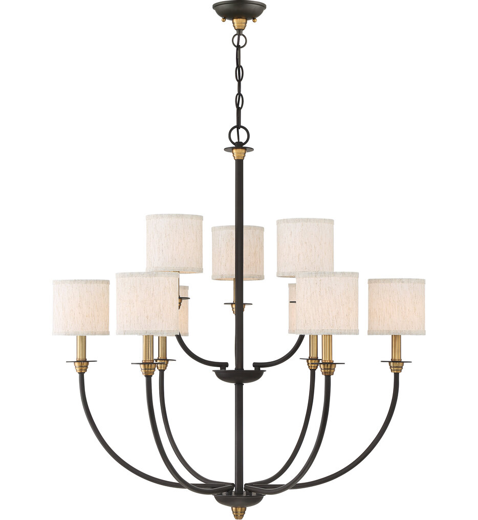 """Audley 33"""" Chandelier"""