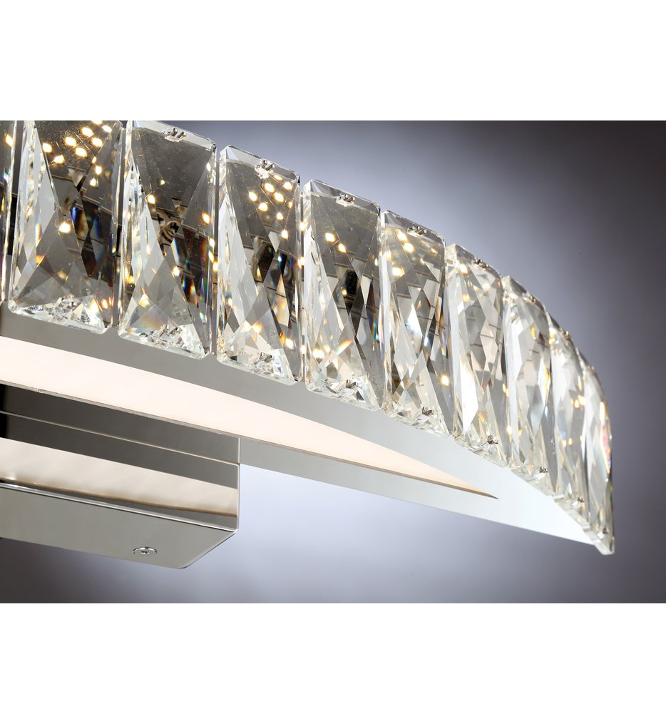 "Platinum Collection Gala 18.5"" Bath Vanity Light"