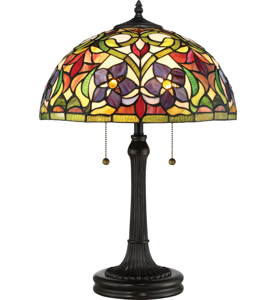 """Violets 23.5"""" Table Lamp"""
