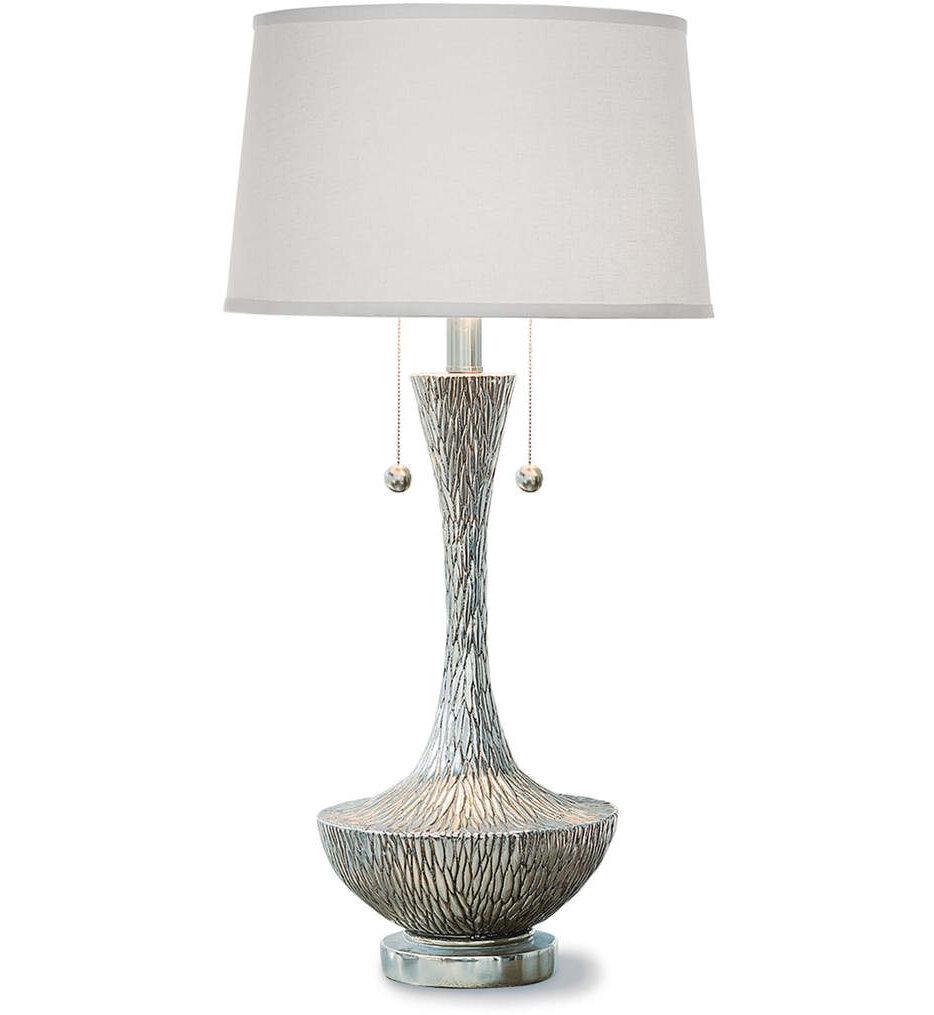 "Embossed Vessel 33.5"" Table Lamp"