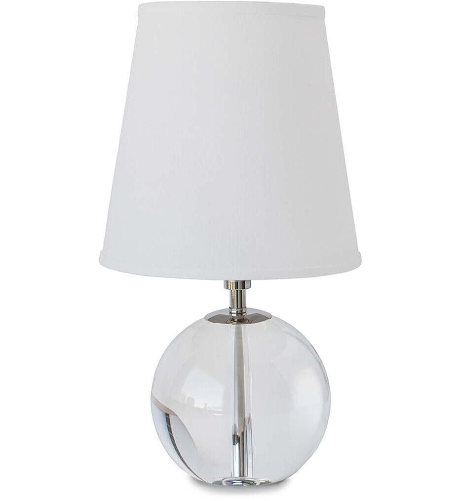 """Crystal Mini Sphere 15.5"""" Table Lamp"""