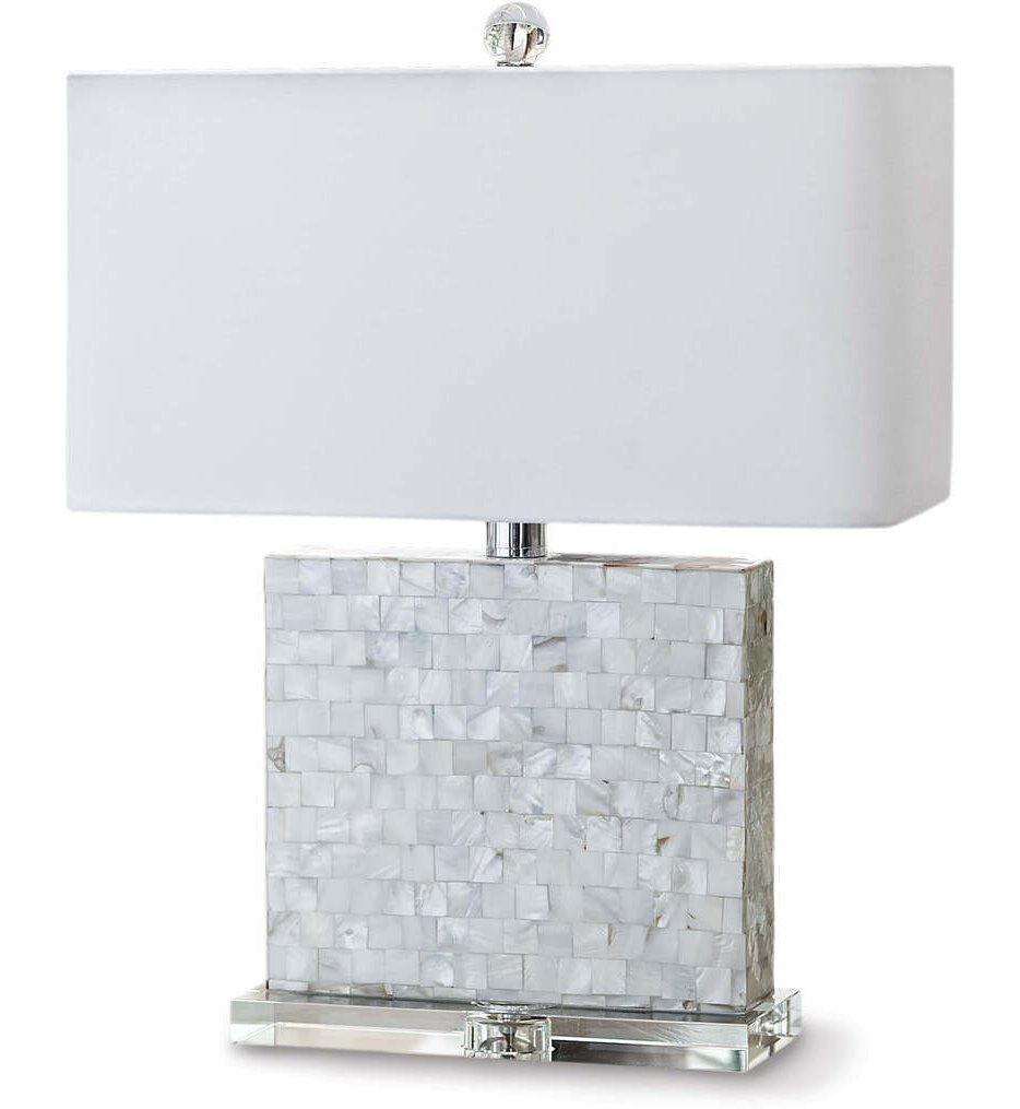 """Bliss Mother of Pearl 22.5"""" Table Lamp"""
