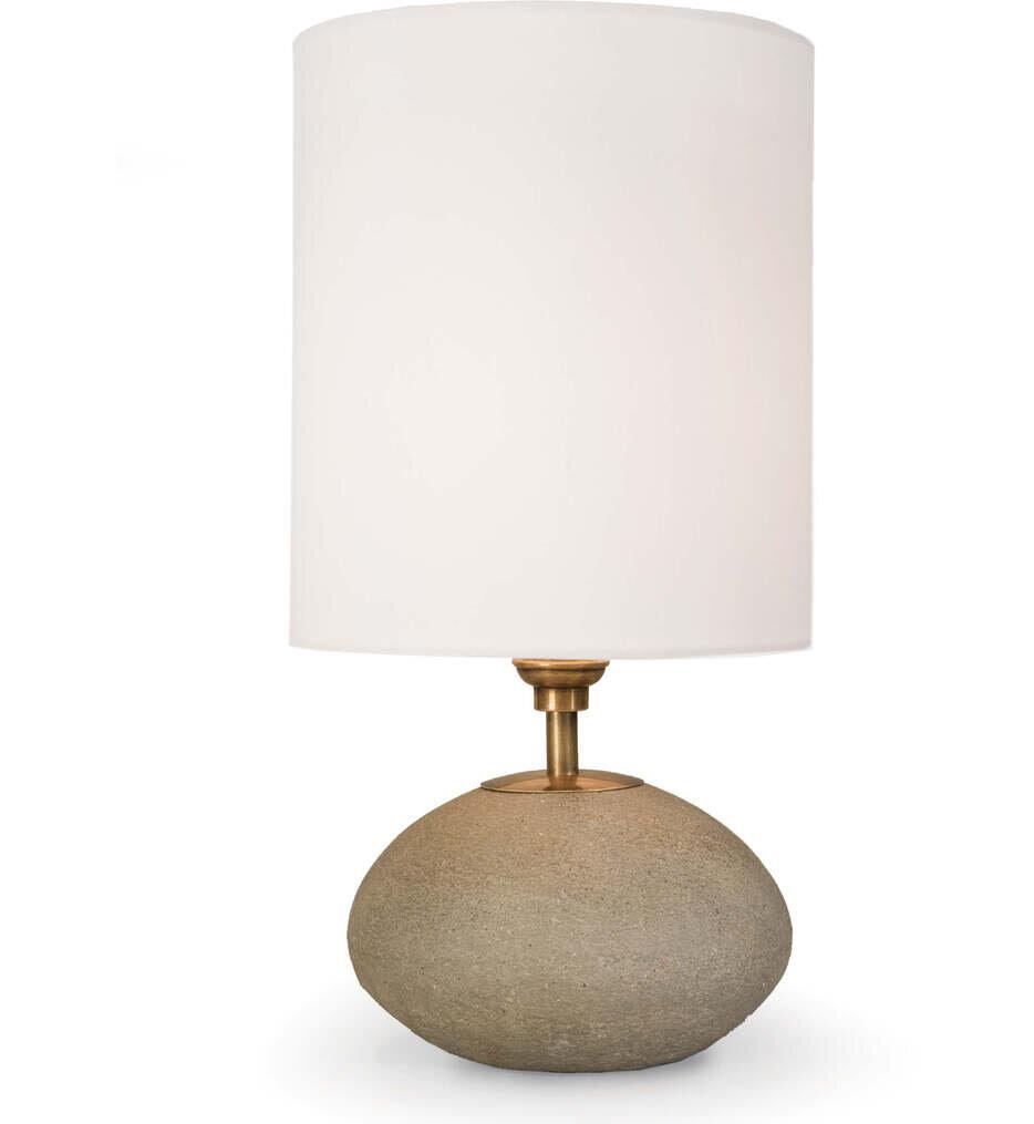 "Concrete Mini Orb 16"" Table Lamp"