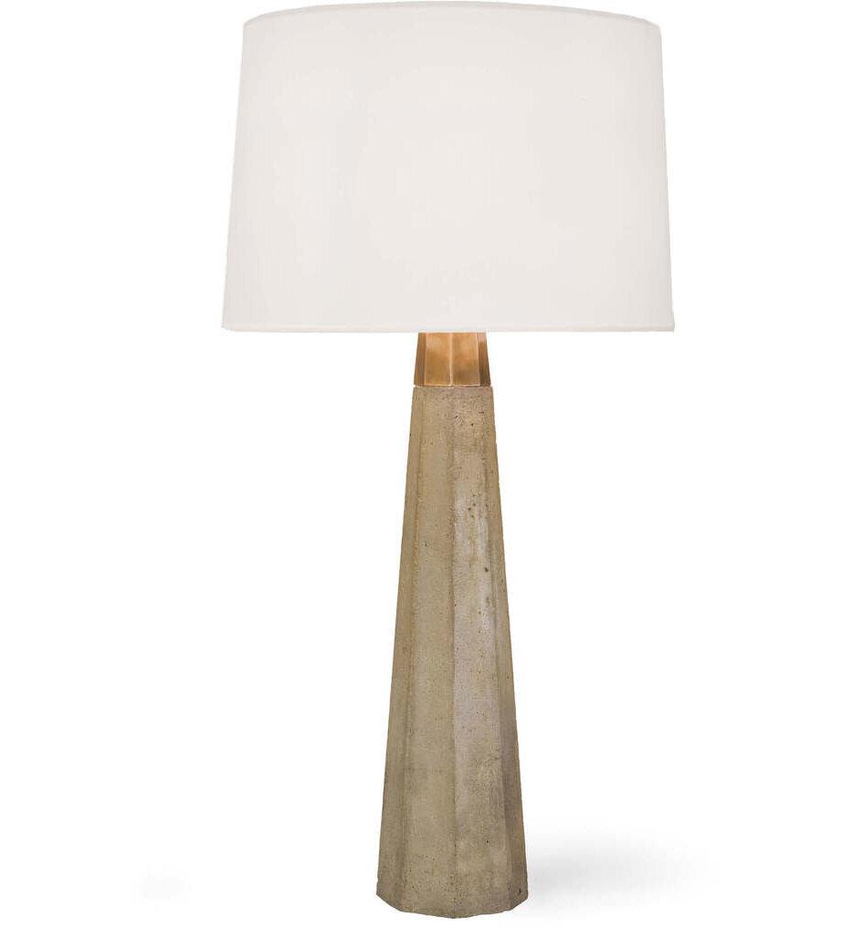 """Beretta Concrete 30"""" Table Lamp"""