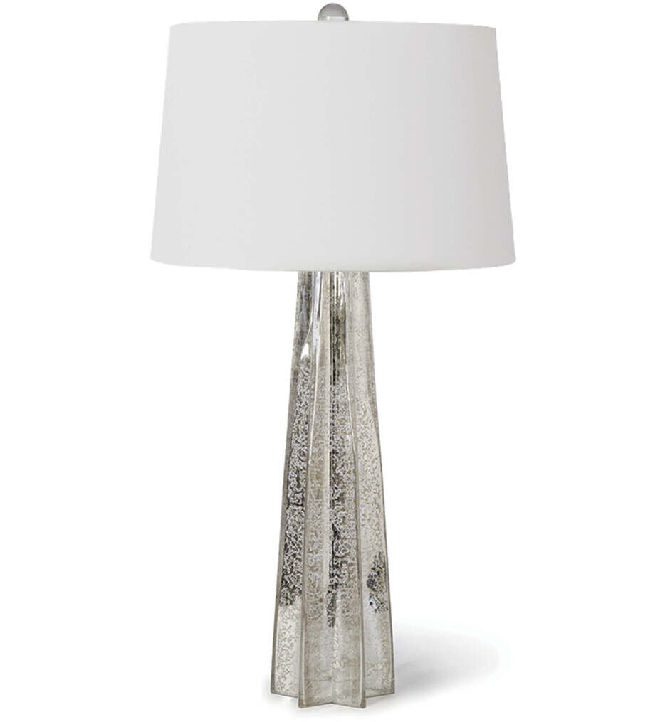 """Glass Star 32.5"""" Table Lamp"""