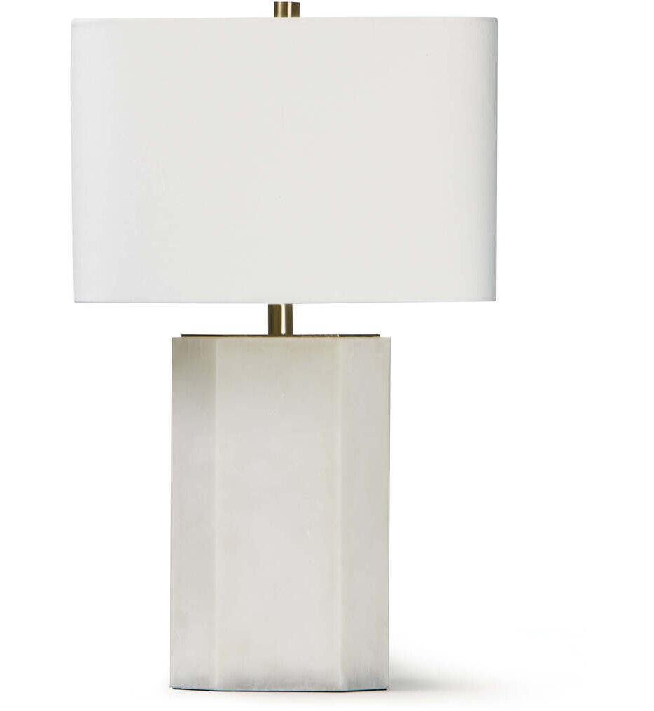 "Grace Alabaster 20"" Table Lamp"