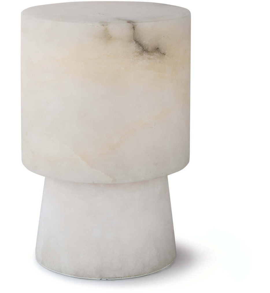 "Hazel Alabaster Uplight 8.5"" Table Lamp"