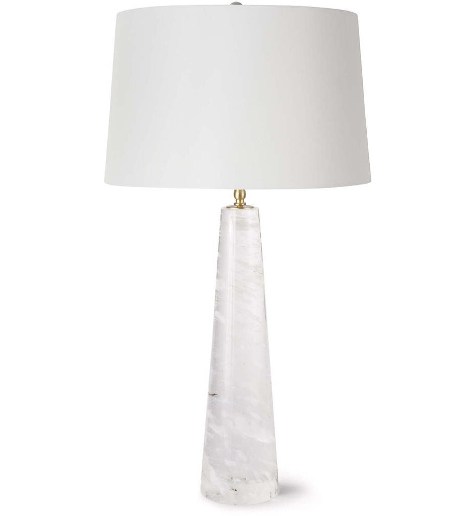 """Odessa Crystal Large 33"""" Table Lamp"""