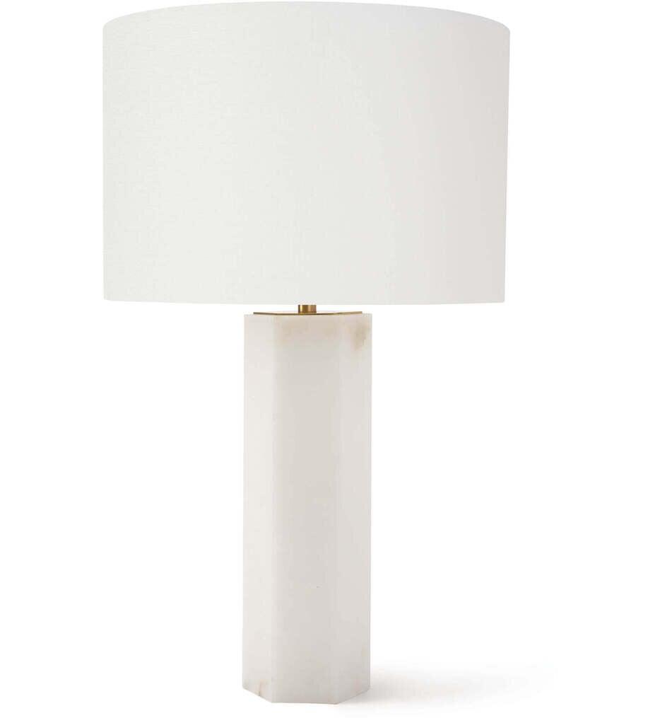 "Stella Alabaster 26.75"" Table Lamp"