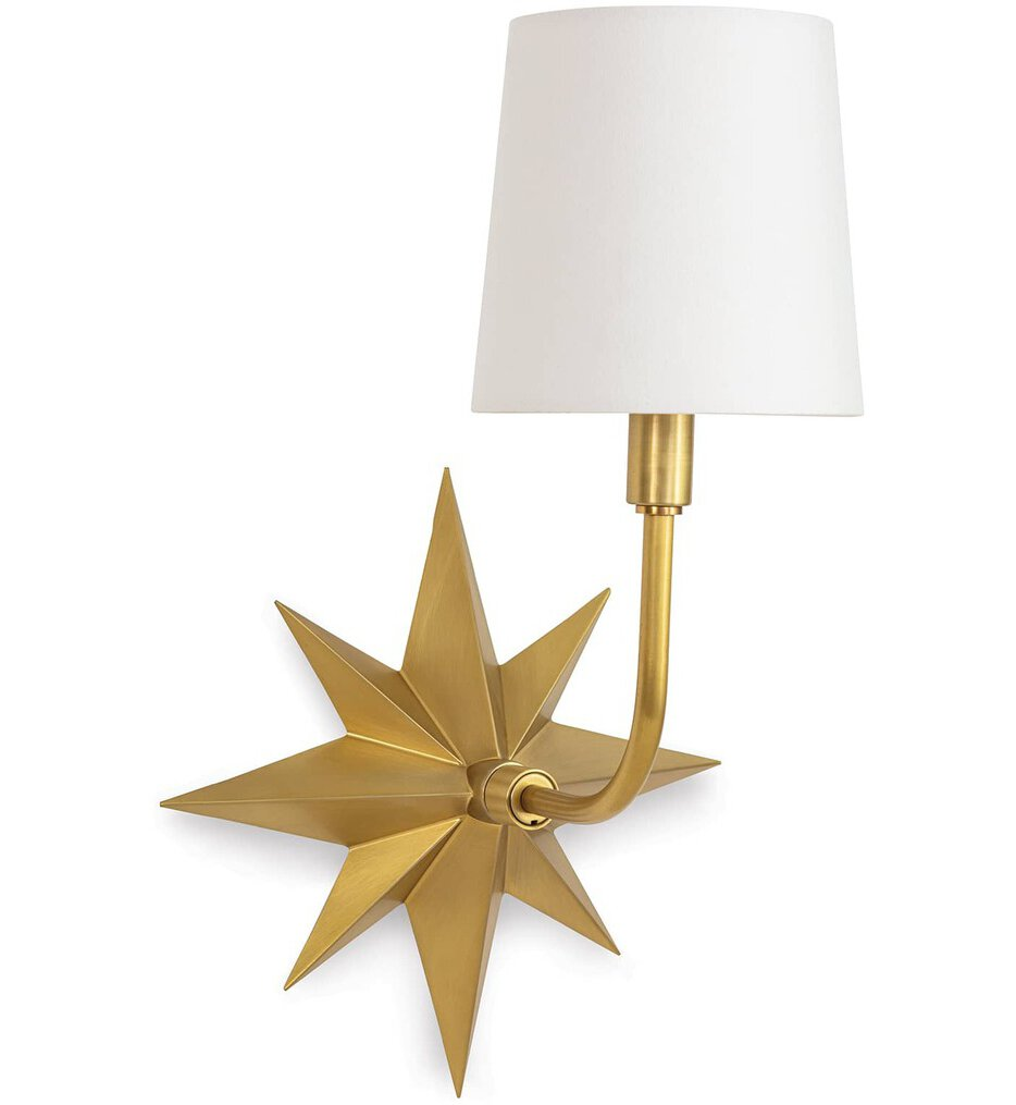 """Etoile 17.25"""" Wall Sconce"""