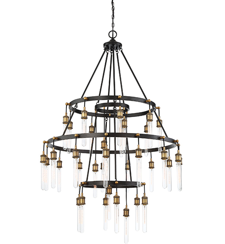 """Campbell 42.38"""" Chandelier"""