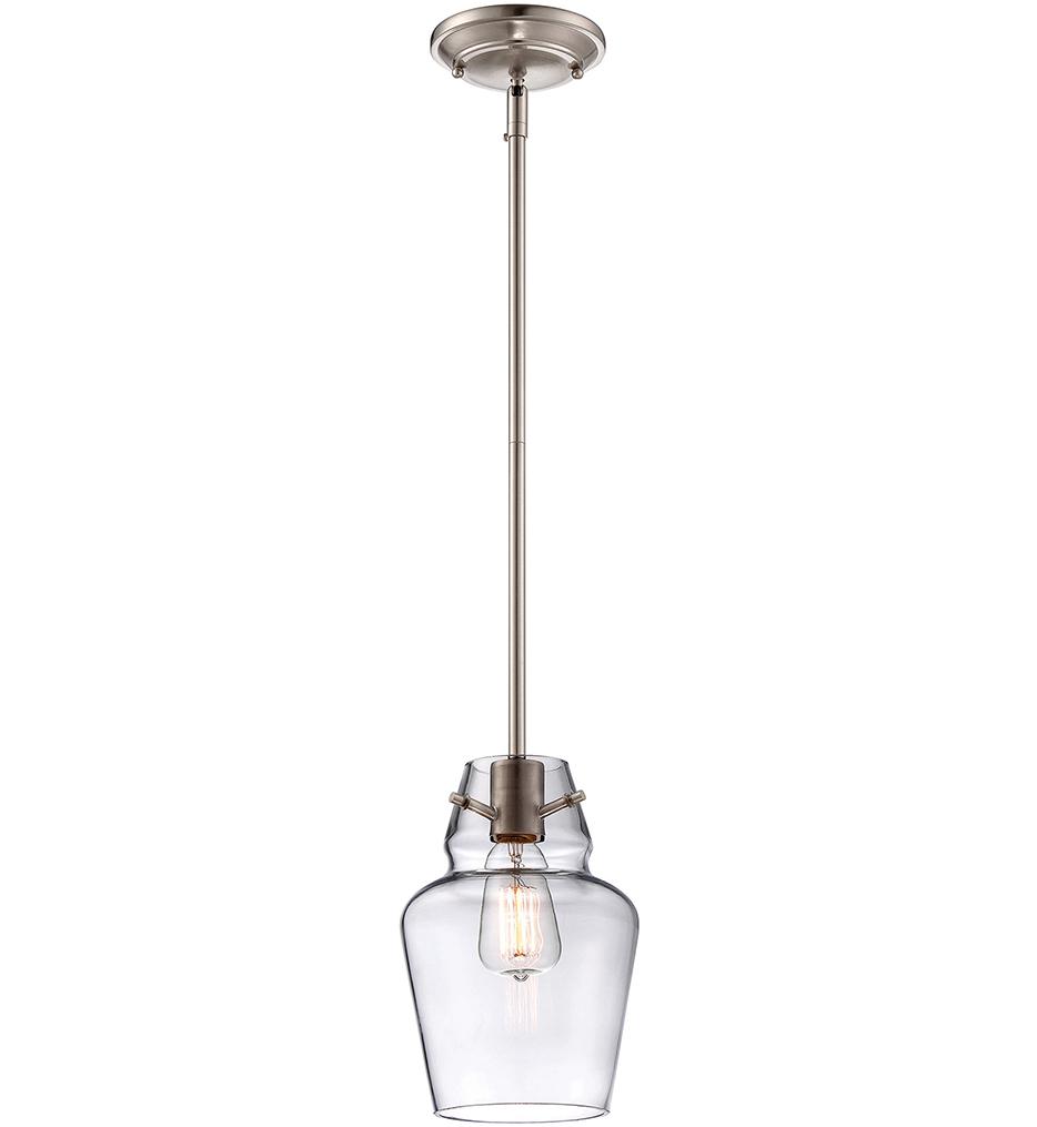 "Glass Filament Pendants 4.5"" Pendant"