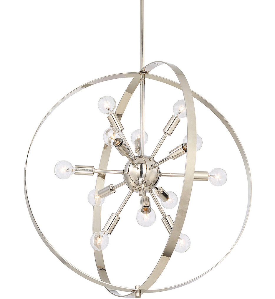 """Marly 24.5"""" Chandelier"""