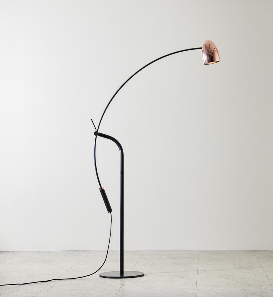 "Hercules 59.8"" Floor Lamp"