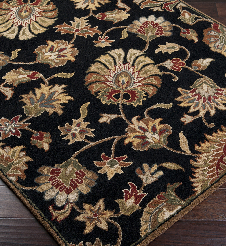 Caesar Charcoal Traditional Hand Tufted Rug