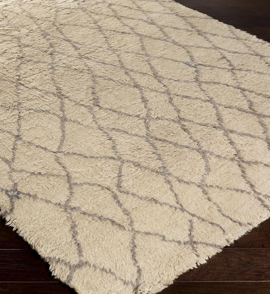 Denali Shag Lines Hand Woven Rug