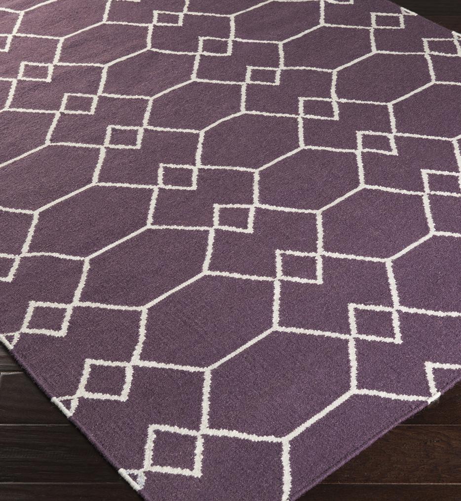 Frontier Geometric Flatweave Hand Woven Rug