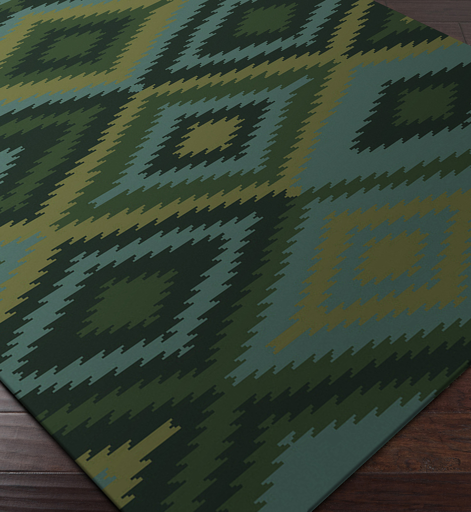 Mesa Southwest Hand Knotted Rug