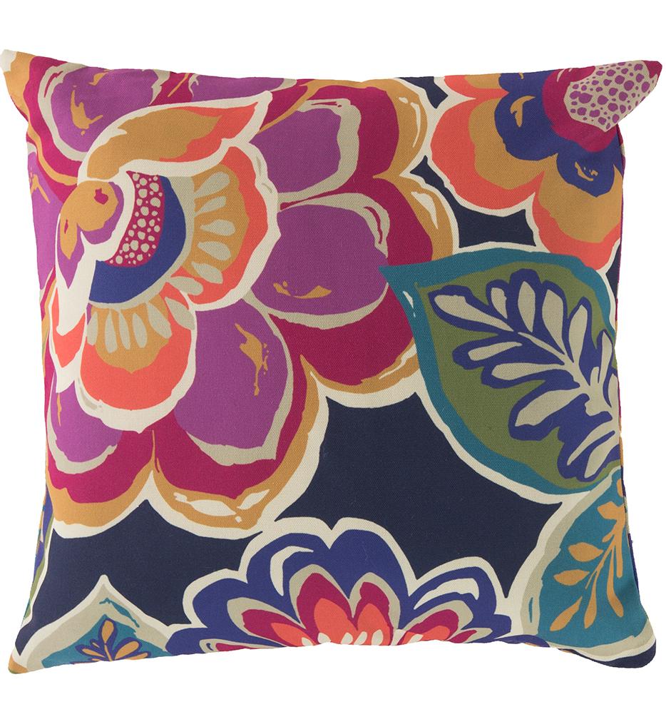 Colorful Floral Decorative Pillow