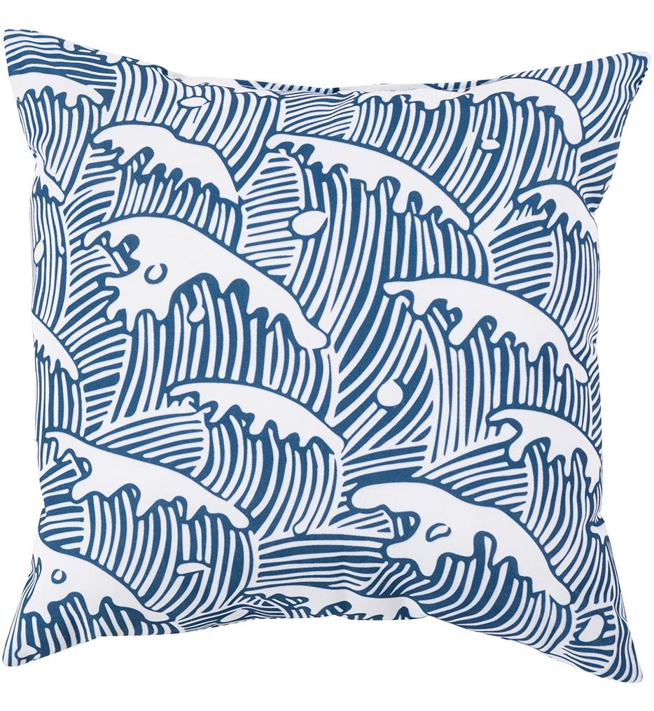 Crashing Waves Decorative Pillow