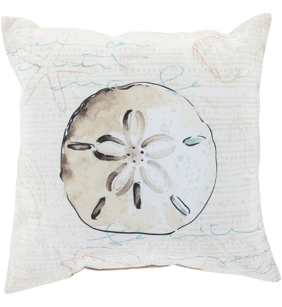 Sand Dollar Decorative Pillow