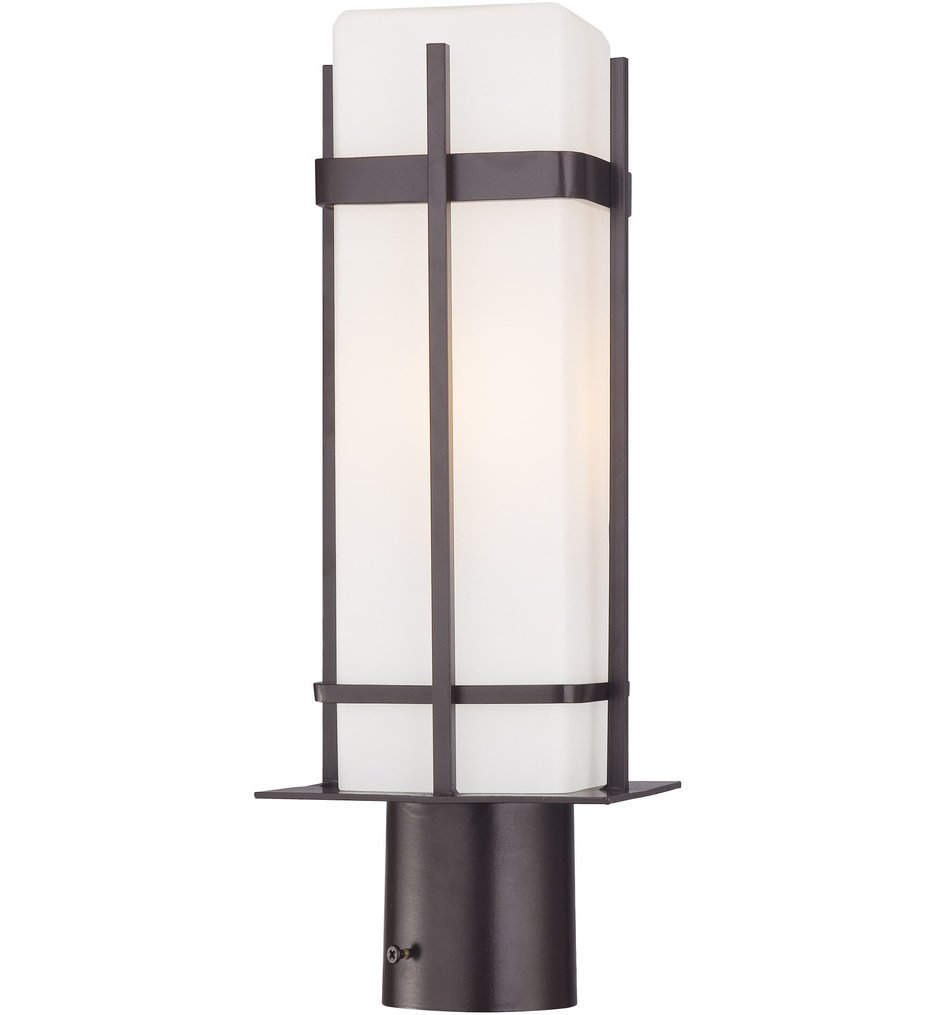 """Sterling Heights 17"""" Outdoor Post Mount"""