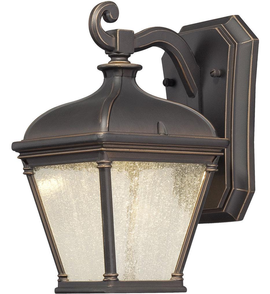 "Lauriston Manor 10"" Outdoor Wall Light"