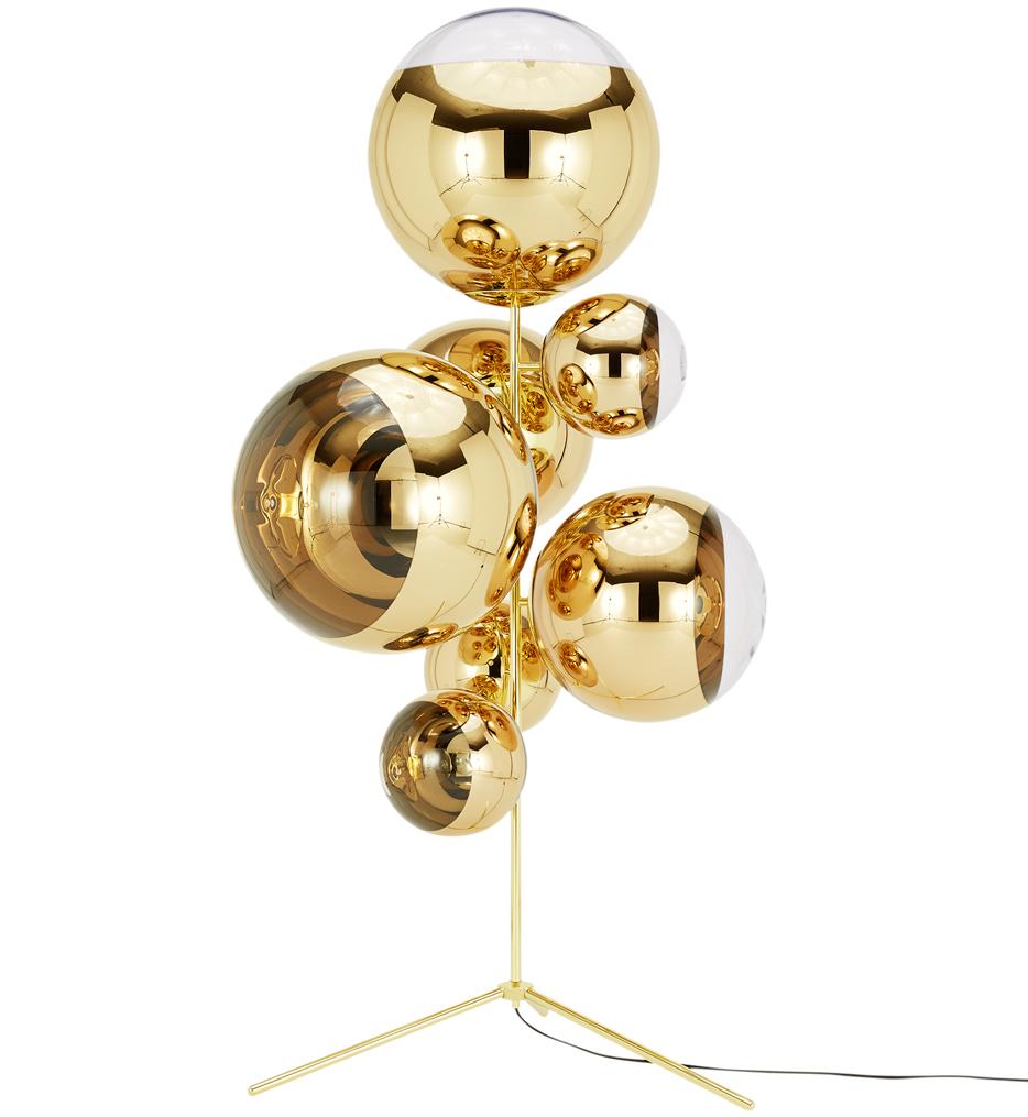 "Mirror Ball 71.4"" Floor Lamp"