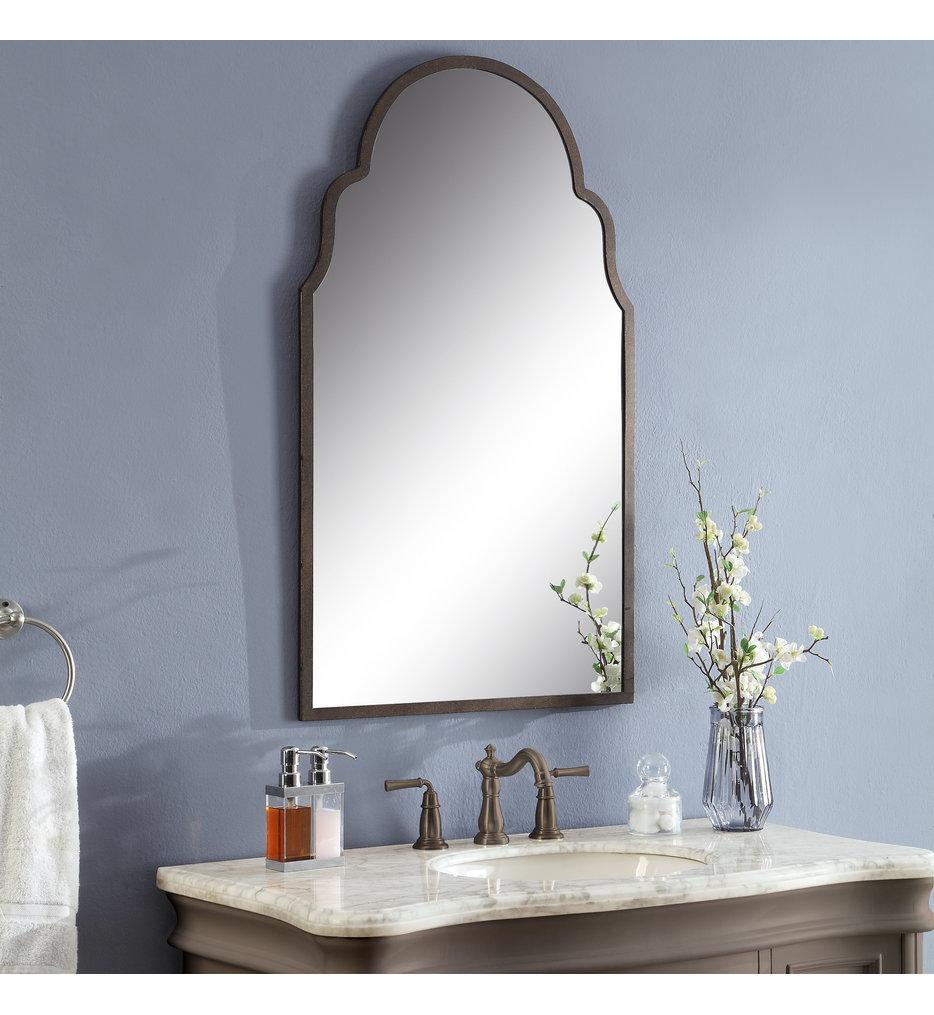 Brayden Arch Metal Mirror