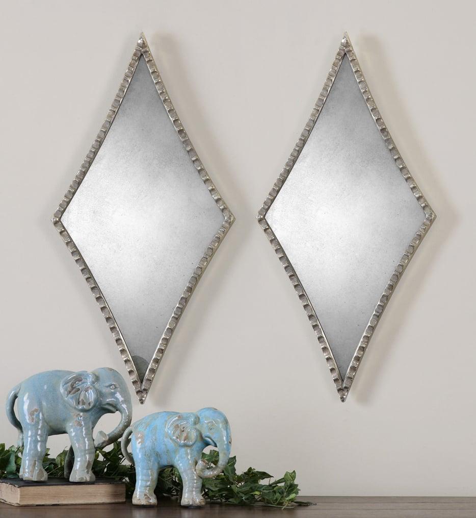 Gelston Silver Mirrors (Set of 2)