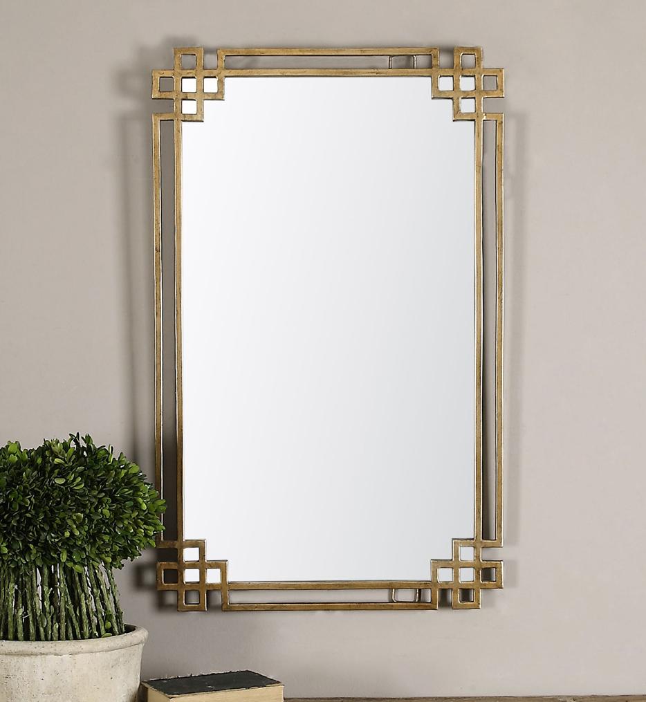 Devoll Antique Gold Mirror