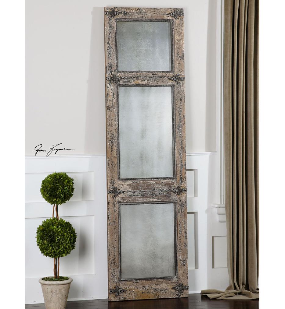Saragano Distressed Leaner Mirror